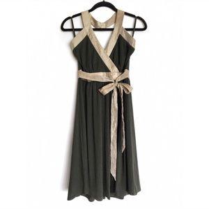 BCBG Paris • Backless Jersey Knit Halter Dress